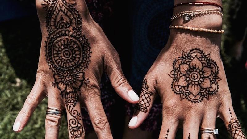 Il Significato Dei Tatuaggi Mehndi Dove Lhenné Rappresenta La Luce
